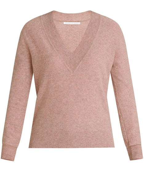 Veronica Beard Coleta V Neck Sweater