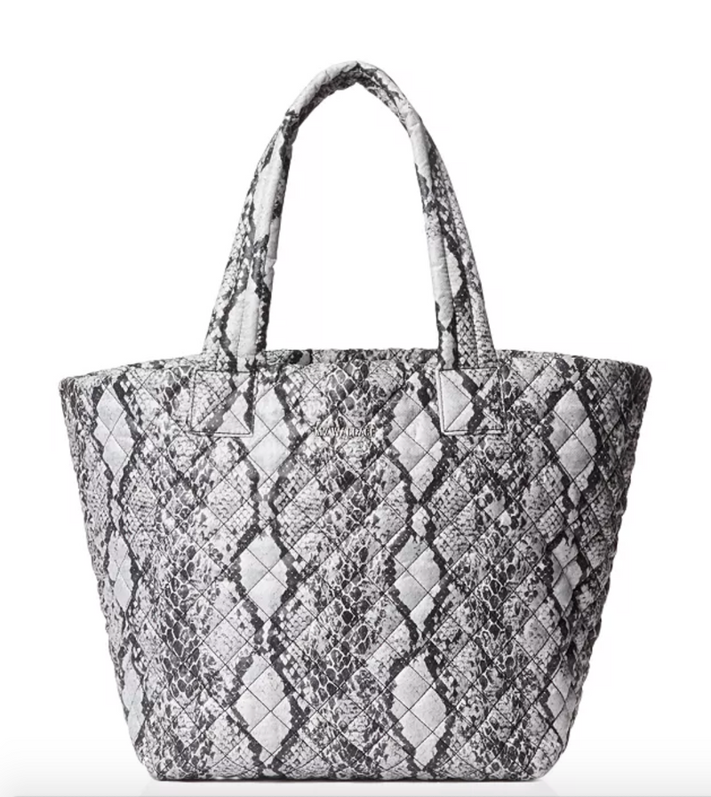 MZ Wallace Snake Print Medium Metro Tote Bag