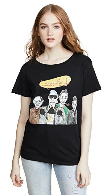 Unfortunate Portrait Lagerfeld Tee