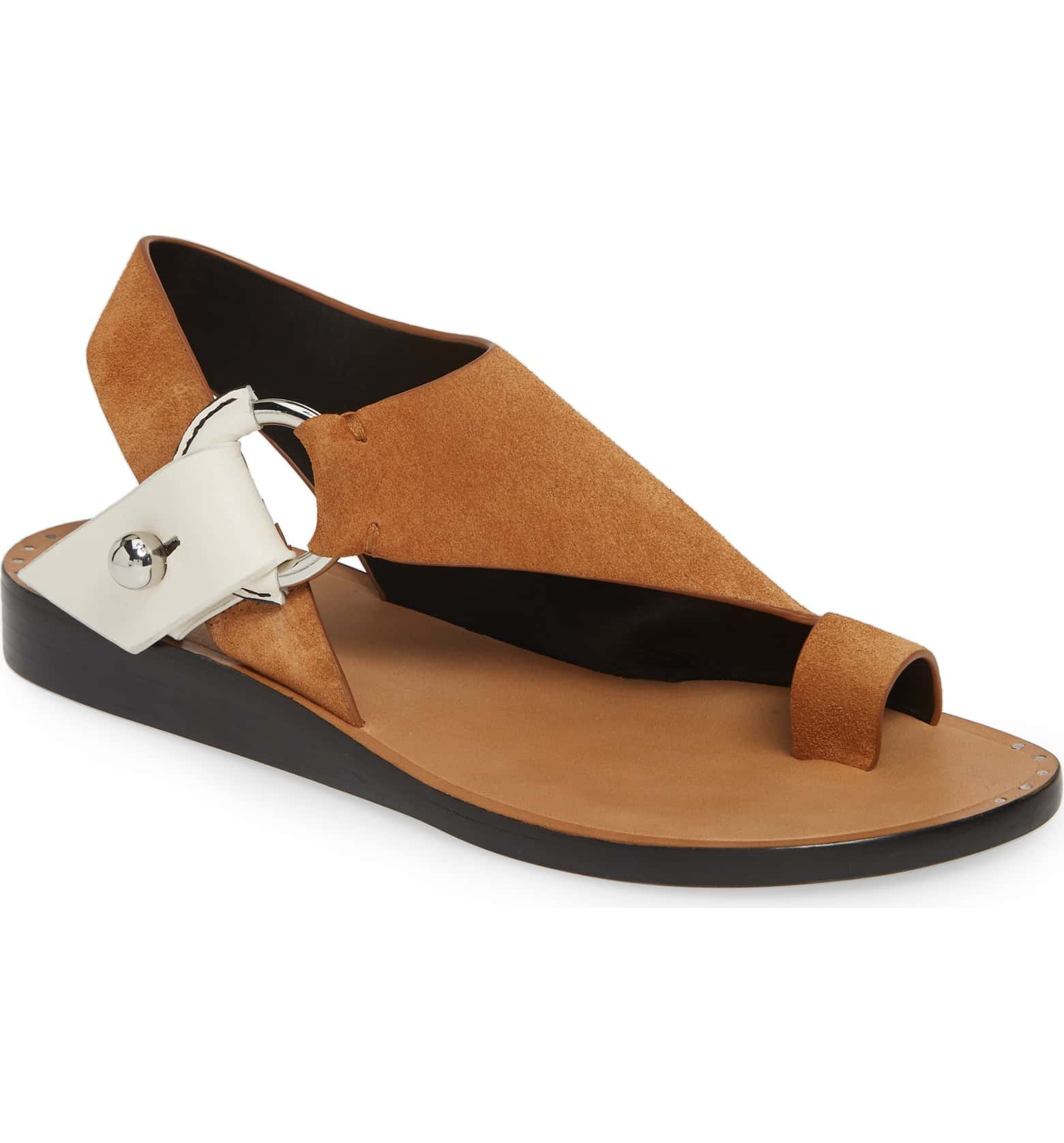 Rag & Bone Arc Toe Loop Sandal