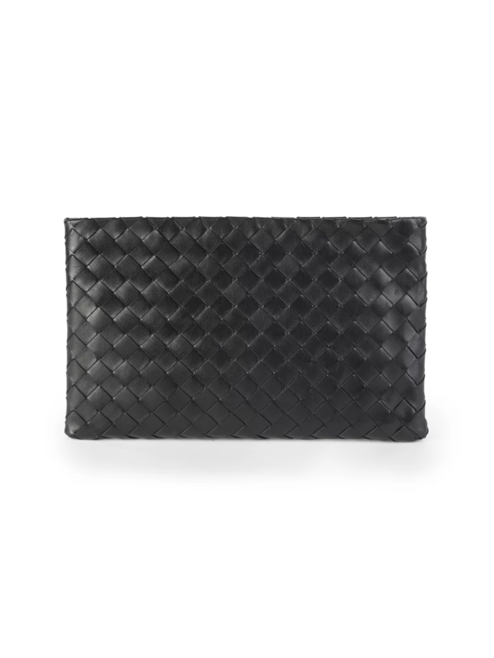 Bottega Veneta Leather Woven Pouch