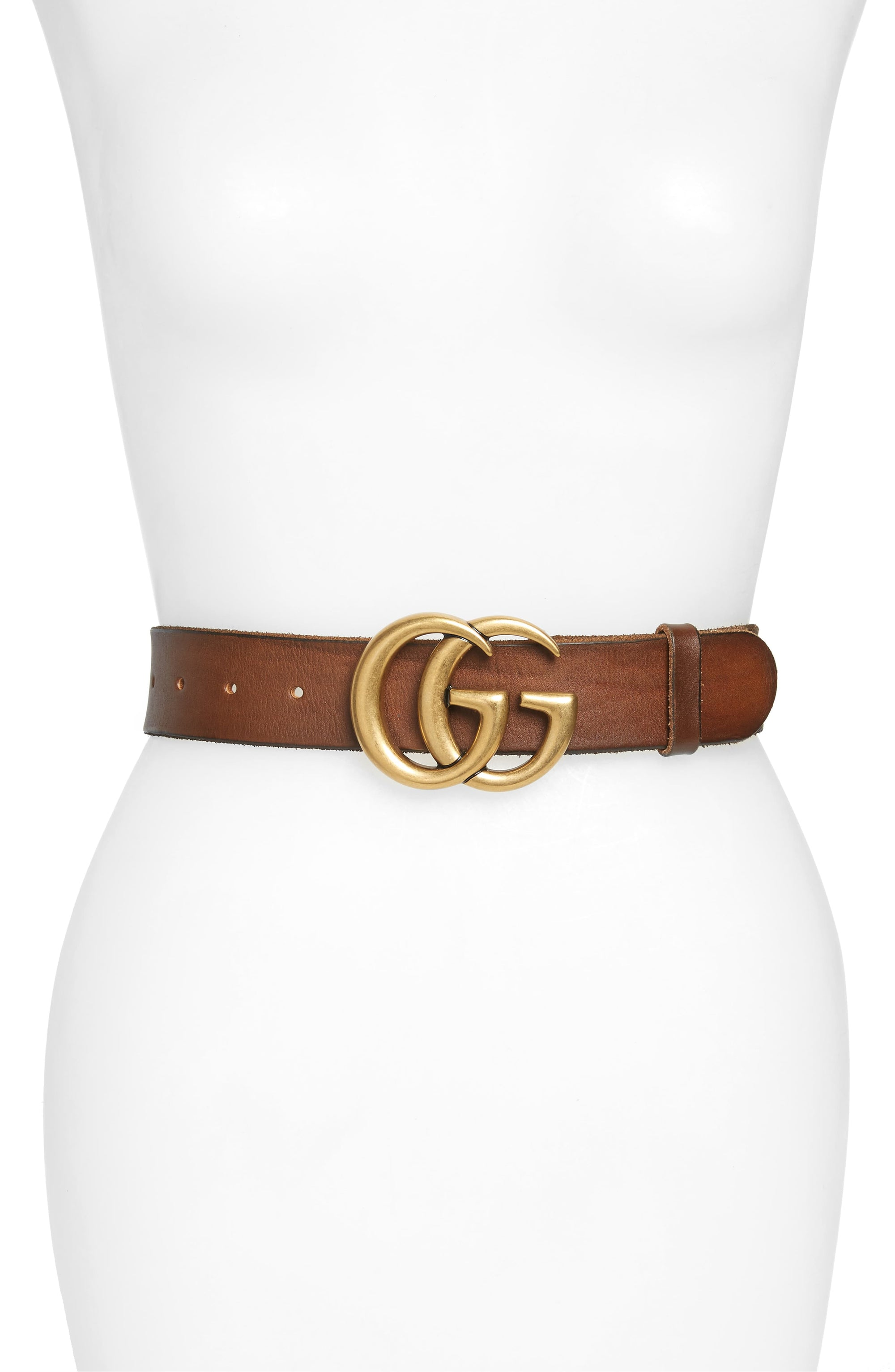 Gucci Marmont Leather Belt