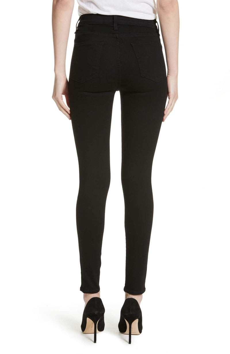 Veronica Beard Debbie Exposed Fly Skinny Jeans