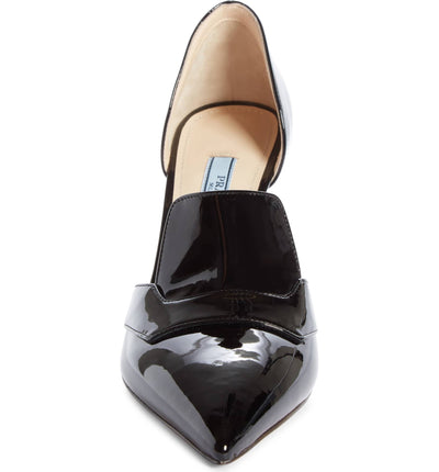 Prada Open Side Loafer Pump