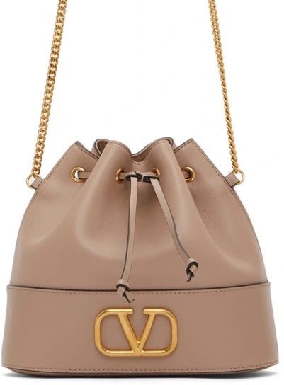 Valentino Garavani Small VLogo Bucket Bag