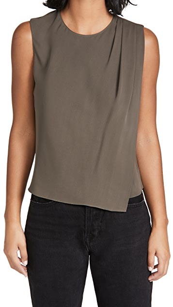 Theory Cowl Neck Top