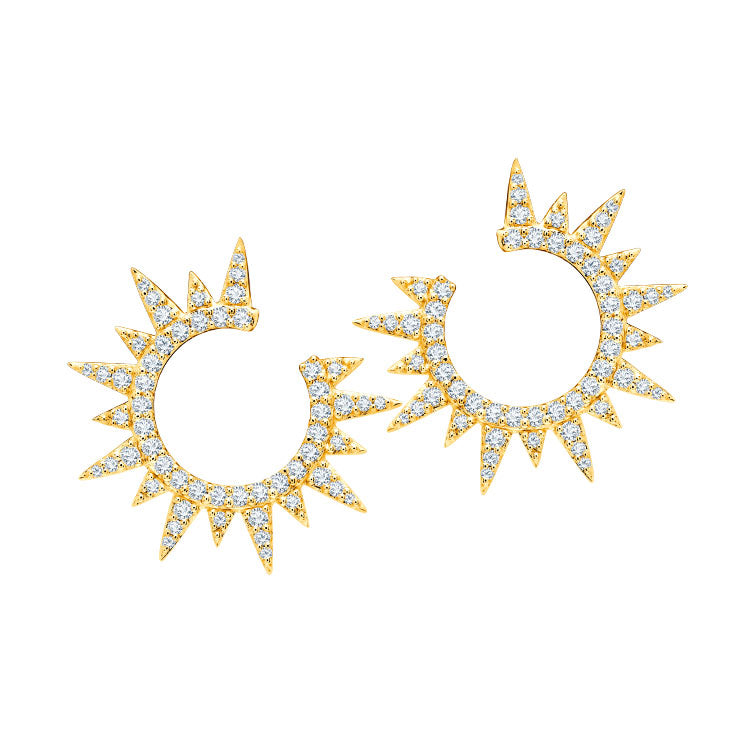 Graziela Everest Diamond Earrings