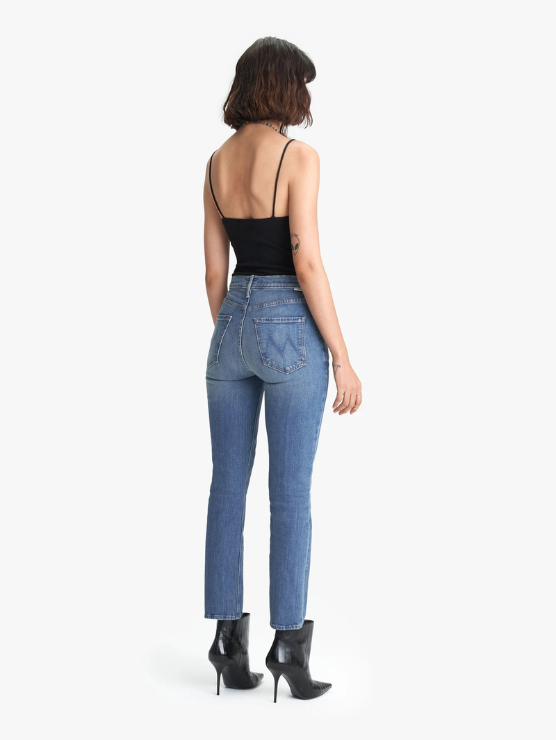 Mother Dazzler Yoke Front Jean