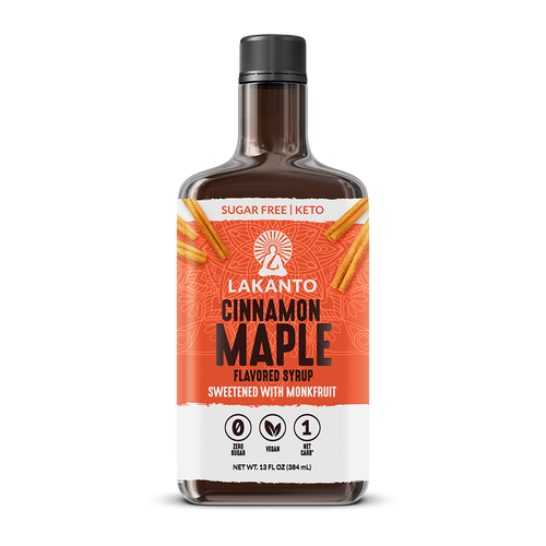 Cinnamon Maple Syrup (Case of 8)