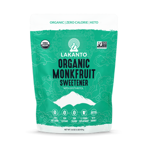 NEW - Organic Classic Monk Fruit Sugar Replacement 1:1 - 1 LB (Case of 8)