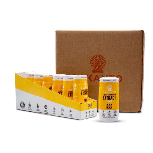 Liquid Monkfruit Extract - Lemon - Case of 36