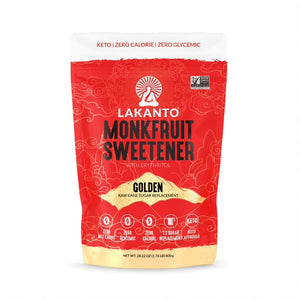 Golden Monk Fruit 1:1 Sugar Substitute - 800 G (Case of 8)