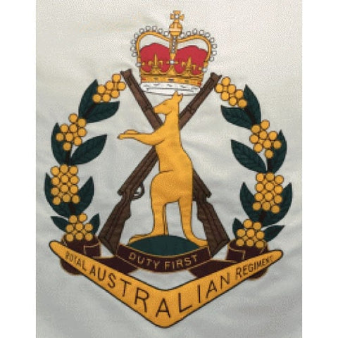 Aust Regiment Kangaroo Custom Flag