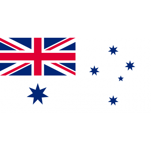 Australian White Ensign flag
