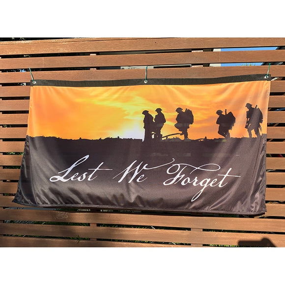 ANZAC Day Flag Horizontal