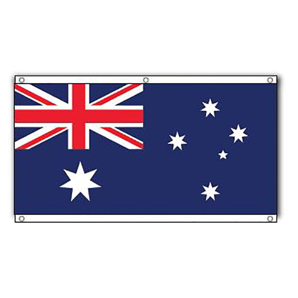 Australian Flag with Eyelets - 1500 x 750mm