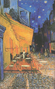 VINCENT VAN GOGH : The Arles, at Night painted in 1888 - Busy Bee Emporium