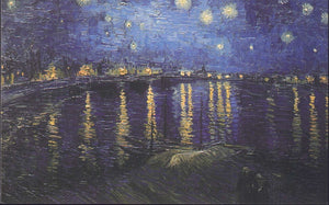 VINCENT VAN GOGH Postcard: Starry Night;  Painted in 1888 - Busy Bee Emporium