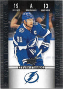 Tim Horton's Upperdeck Hockey Insert: Game Day Action: HGD-13 Steven Stamkos