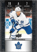 Tim Horton's Upperdeck Hockey Insert: Game Day Action: HGD-7 John Tavares