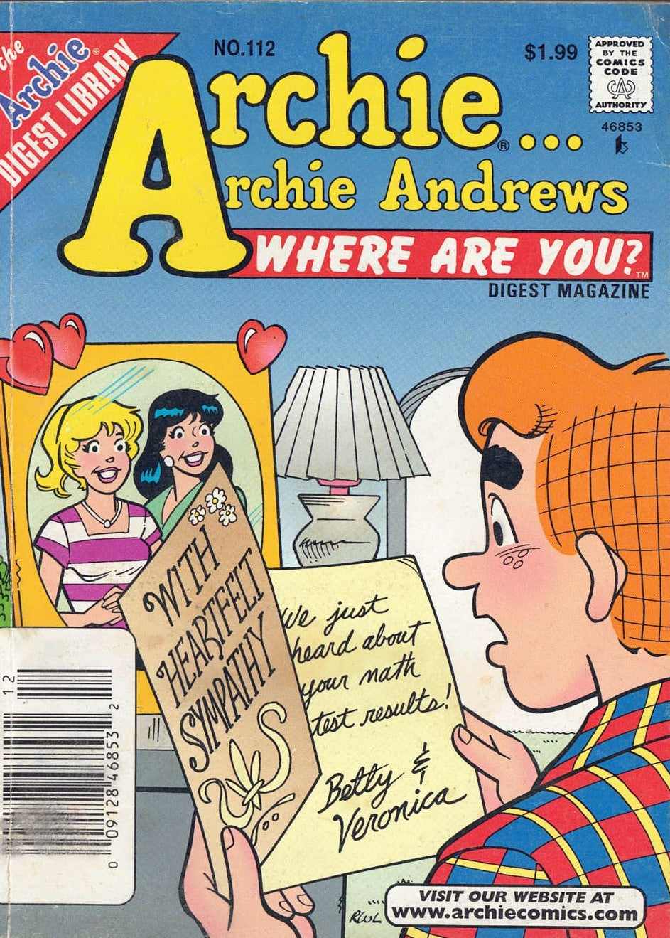 Archie Andrews Where Are You Digest Library 112 - Busy Bee Emporium