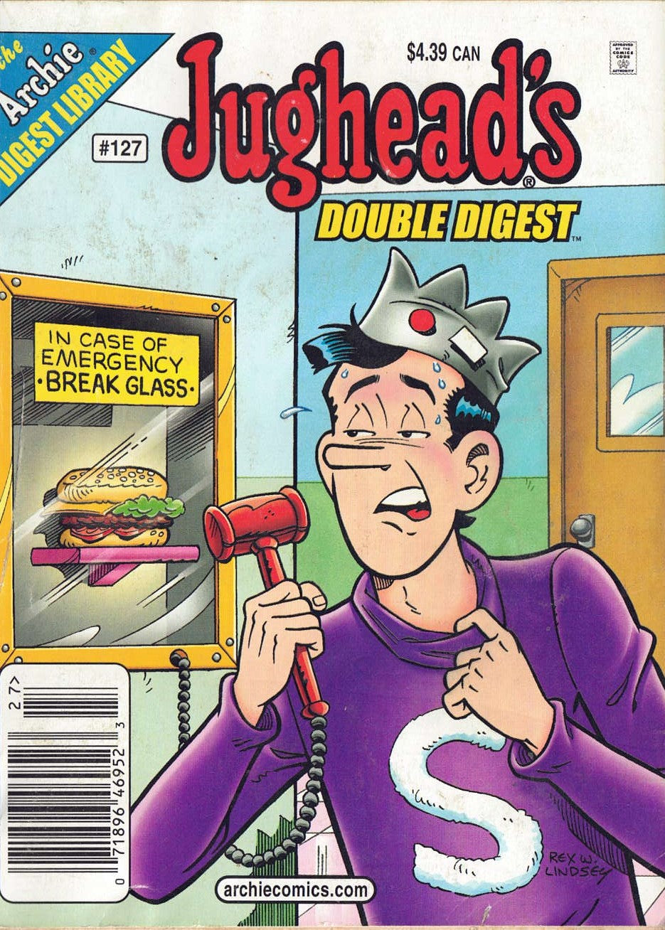 JUGHEAD'S COMICS DOUBLE DIGEST Magazine No. 127 from Archie Comics (2007) - Busy Bee Emporium