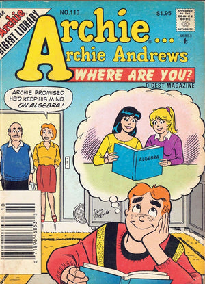 Archie Andrews Where Are You Digest Magazine 110 Complete Issue Comic May 1997 - Busy Bee Emporium