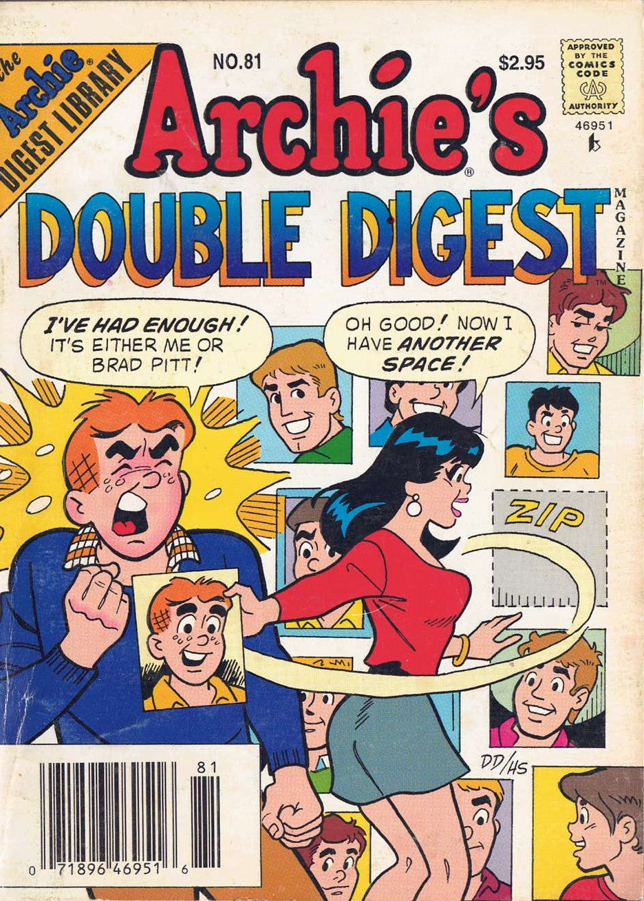 Archie's Double Digest #81 VG 1995 - Busy Bee Emporium