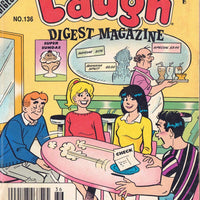 Laugh Digest Magazine #136 VF; Archie
