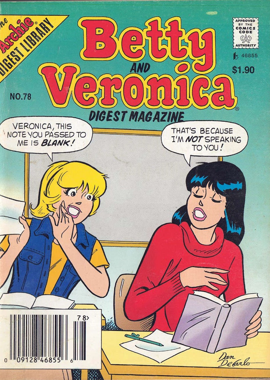 Betty and Veronica Digest #78 - Busy Bee Emporium