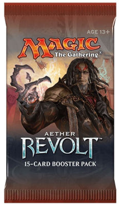 MTG: AETHER REVOLT 🧛‍♂️🧙‍♂️🧝‍♂️ ENGLISH Booster Pack - Busy Bee Emporium