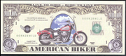 AMERICAN BIKER 2002 💶🏍 One Million Fantasy Money 🏍💴 Easy Rider Motorcycle - Busy Bee Emporium