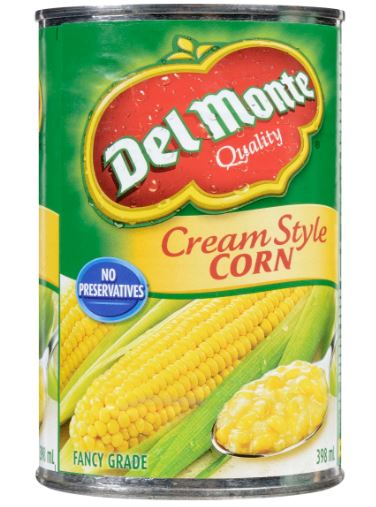 DEL MONTE CREAM STYLE CORN - 398ml