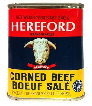HEREFORD CORNED BEEF 340g