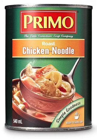 PRIMO CHICKEN NOODLE SOUP 540ml