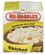 MR NOODLES - NOODLES IN A CUP - CHICKEN 64g