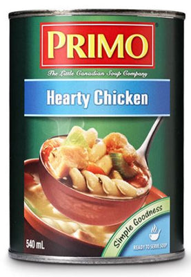 PRIMO HEARTY CHICKEN SOUP 540ml