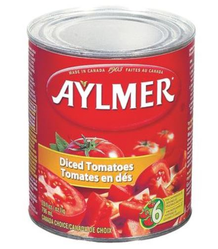 AYLMER DICED TOMATOES - 796ml