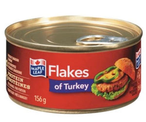 MAPLE LEAF - FLAKES OF TURKEY - 156 G