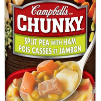 CAMPBELL'S CHUNKY SOUP - SPLIT PEA with HAM 540ml