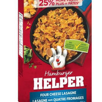 HAMBURGER HELPER- FOUR CHEESE LASAGNE 193g