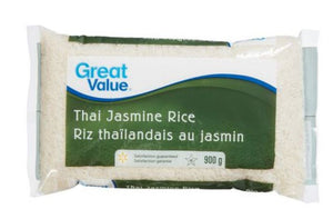 GREAT VALUE THAI JASMINE RICE 900g