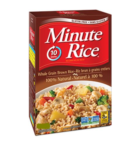 MINUTE RICE - BROWN - 600g