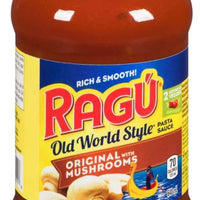 RAGU - ORIGINAL WITH MUSHROOMS 640ML
