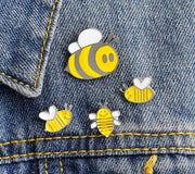 🐝🐝 HONEY BEE FAMILY - 4 PIN SET 🐝🐝 - Busy Bee Emporium