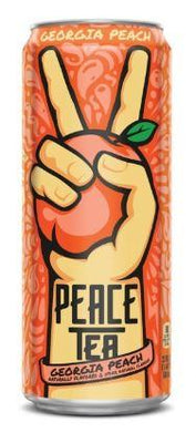 GEORGIA PEACH: PEACE TEA - PEACH - 695ml Bottle deposit is included in the price.