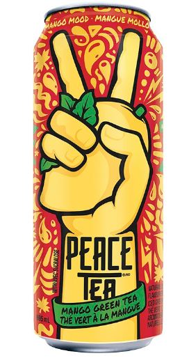 MANGO MOOD: PEACE TEA - 695ml   Bottle deposit is included in the price.