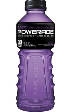 POWERADE 591ML GRAPE