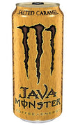 MONSTER ENERGY DRINK - JAVA SALTED CARAMEL  444ml- Bottle deposit is included in the price.