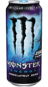 MONSTER ENERGY DRINK - ABSOLUTELY ZERO  473ml- Bottle deposit is included in the price.